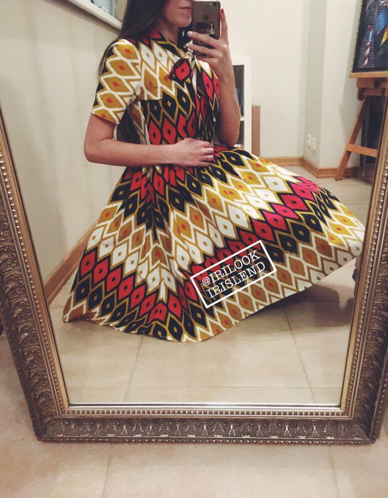 купить винтажное платье