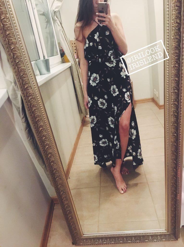 платье лето