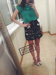 купить юбку Zara. отзыв на юбку с Aliexpress