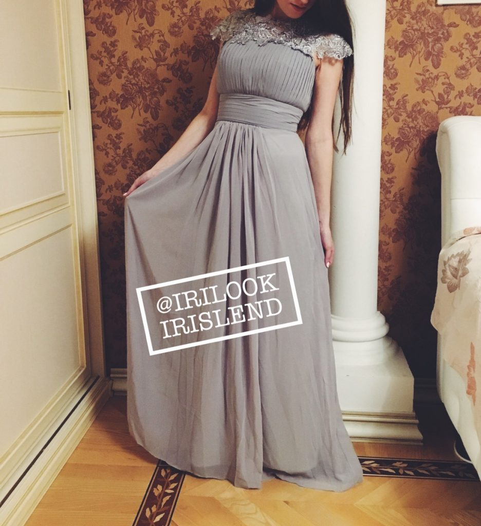 серое платье 6