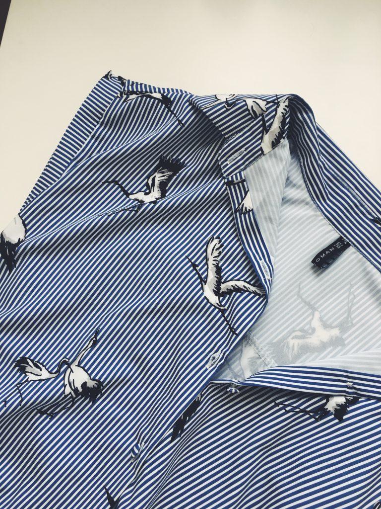 купить блузку с журавлями