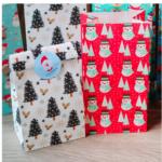 подарочные пакеты новый год
