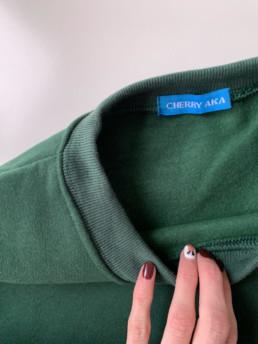 Изумрудный свитшот. Базовый гардероб – обзоры – @irilook