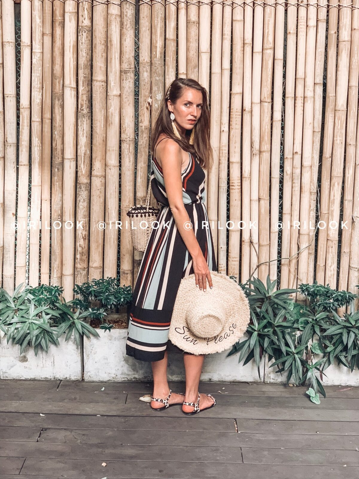 eedf6f54f386586 Полосатое платье в отпуск с Алиэкспресс. Отзыв - IrisLend