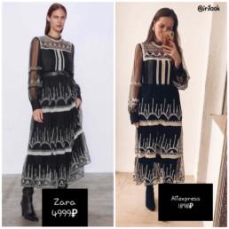 сравниваем-вещи-zara-с-алиэкспресс-платье-купить-недорого-@irilook