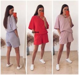 костюм с шортами купить на Алиэкспресс @irilook отзывы