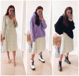 осень 2020 купить гардероб недорого на Алиэкспресс обзор покупок платье миди @irilook