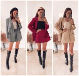 костюм мини юбка и пиджак с Алиэкспресс купить недорого на Алиэкспресс отзывы @irilook хочу-могу