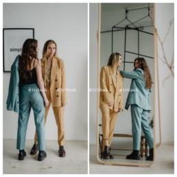 брючный костюм купить на Алиэкспресс недорого пиджак мода 2020 отзывы aliexpress @irilook