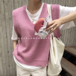 трикотажный жилет купить недорого мода стиль масс-маркет Zara Aliexpress @irilook