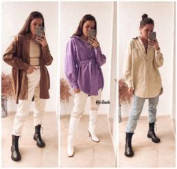 вельветовая удлиненная рубашка Zara купить на Алиэкспресс базовый гардероб отзывы хочу/могу