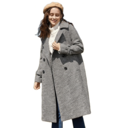 пальто Plus size гардероб с Алиэкспресс модные вещи больших размеров недорого