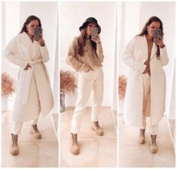 стеганое пальто купить недорого на Алиэкспресс отзывы хочу могу sos Zara @irilook