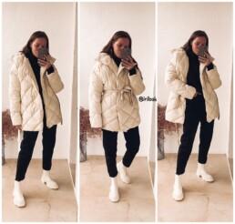 пуховик теплый с Алиэкспресс мода стиль отзывы @irilook