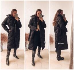 пуховик длинный теплый с Алиэкспресс мода стиль отзывы @irilook