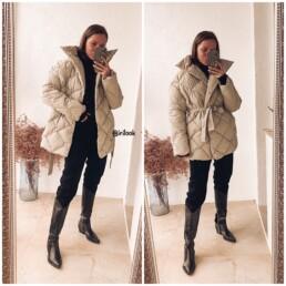 пуховик короткий теплый с Алиэкспресс мода стиль отзывы @irilook