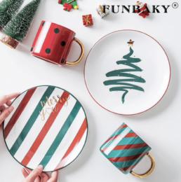 тарелки новогодние посуда купить недорого на алиэкспресс