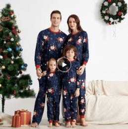 family look купить недорого на Алиэкспресс одежда для всей семьи рождество фотосессия