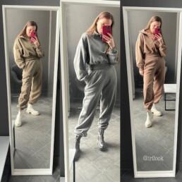 спортивный костюм из футера купить на Aliexpress недорого @irilook