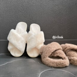 меховые тапки oysho купить на Алиэкспресс дешевле недорого обзор @irilook