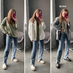 джинсы с разрезами с Алиэкспресс отзывы обзоры @irilook купить недорого
