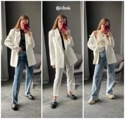 белый костюм купить на Алиэкспресс Zara отзывы @irilook