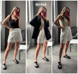 модные образы Алиэкспресс джинсы, платья шорты обзоры покупок