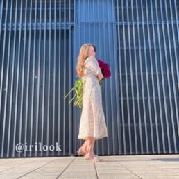 платье из шифона с Алиэкспресс отзывы обзор покупок @irilook