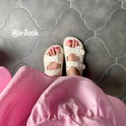 сандалии в стиле Chanel купить недорого на Алиэкспресс @irilook