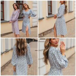 Платье — осень — 2021 — Алиэкспресс — irilook — Toppies
