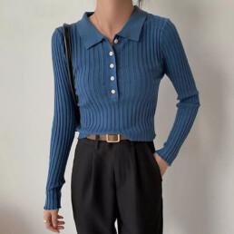 Базовый гардероб — лонгслив-поло — Алиэкспресс — IRILOOK — Aliexpress