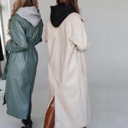 Базовый гардероб — пальто из эко-кожи — Алиэкспресс — IRILOOK — TOPPIES